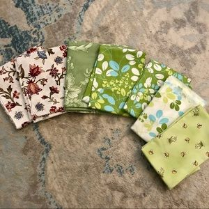 Floral Sewing Quilting Cotton Bundle
